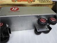 Tin Marx A & P Supermarkets tractor & trailer - MI