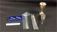 6 Misc pieces of sterling silver