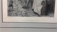 20 x 17 vintage H Wallis Print Back from Marston