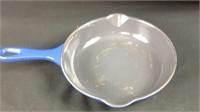 "7.5"" Le Creuset cast Iron Enameled Frying Pan"