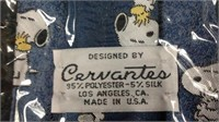 Vintage Cervantes USA NOS peanuts Snoopy Tie
