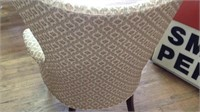 Beautiful vintage wing back chair