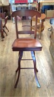 47 inch swivel stool with back (2)