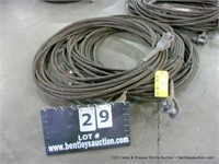 1300 Cable & Sheave Online Auction, January 19, 2021