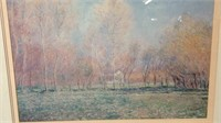 35 x 41 art print Monet