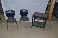 Tomah School District, shop tools, desks, charging stationsh