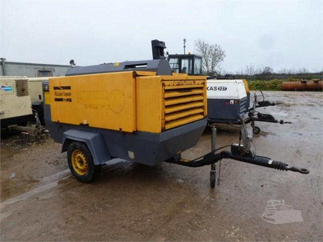 2009 ATLAS COPCO XAS186DD at www.used-compressors.co.uk