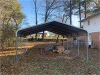 METAL CARPORT - TO BE MOVED