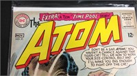 Vintage silver age the atom comic book