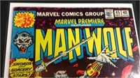 Marvel man wolf number 45 comic book