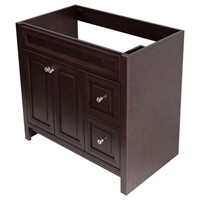 Bath Vanity Cabinet Only in Chocolate