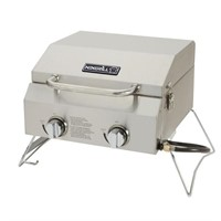 2-Burner Portable Propane Gas Table Top Grill