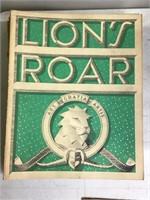 12 Volumes of Lions Roar Magazines