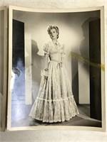 2 Vintage John Wayne and Binnie Barnes Photos