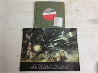 1977 Star Wars Advertising Book w/ Star Wars 45