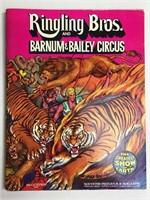 3 1974 Barnum & Bailey Circus Souvenir Program