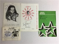 Tony Bennet & Other Autographed Programs IN IU