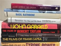 11 Hollywood Bio Books - Bond / Rathbone