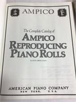 Duo-Art and Ampico Piano Roll Catalogs