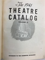 RARE 1940, 41, and 42 Theater Catalogs - 2500 Ptg