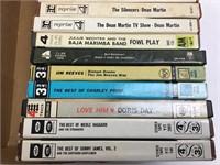 24 Reel to Reel Dean Martin/Merle Haggard & More