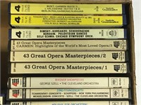 Large Lot of 25+ Orchestra Reel to Reel Tapes