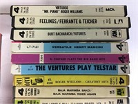 24 Reel to Reel Tapes Herb Alpert / Andy Williams+