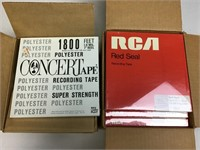 19 New Sealed RCA & Concertape Reel to Reels