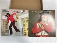 2 VTG Chuck Mangione 33RPM Vinyl