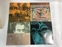 4 VTG R.E.M. 33RPM Vinyl