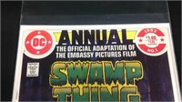 1982 swamp thing annual number one