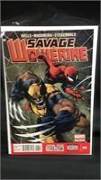 Savage wolverine comic book