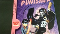 The punisher number one direct edition comic book
