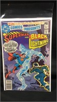 DC comics presents Superman and black lightning