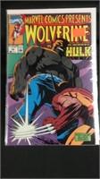 Wolverine vs the Incredible Hulk Number 55 comic