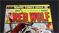 Vintage marvel red wolf number seven comic book