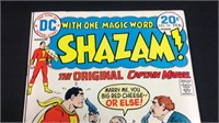 Vintage DC Shazam comic book number 10