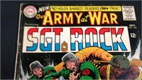 Vintage DC our army at war Sergeant rock#160