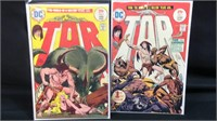 Vintage D.C. Tor #1,#2 comic books