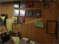 Entire Booth with Shelving, LP Records, Glass, etc