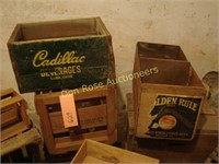 Lot of Crates:  Cadillac Beverages, Citris