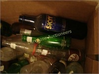 3 Boxes of Soda and Alcohol Bottles