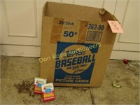 Topps Baseball Box and (2) Collector's Series