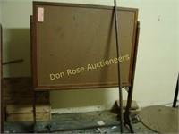 Old Bulletin Board Stand