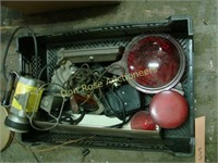 Box of Miscellaneous Auto, Tools, etc