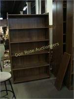 Four Wood Book Cases