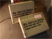 2 Unopened Boxes of Military K-Rations