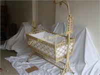 Wicker Baby Bed