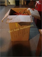 Box of Heavy Duty Extension Cords & Power Strips