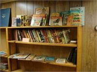 (3) Rows of Child's Books (shelf not included)